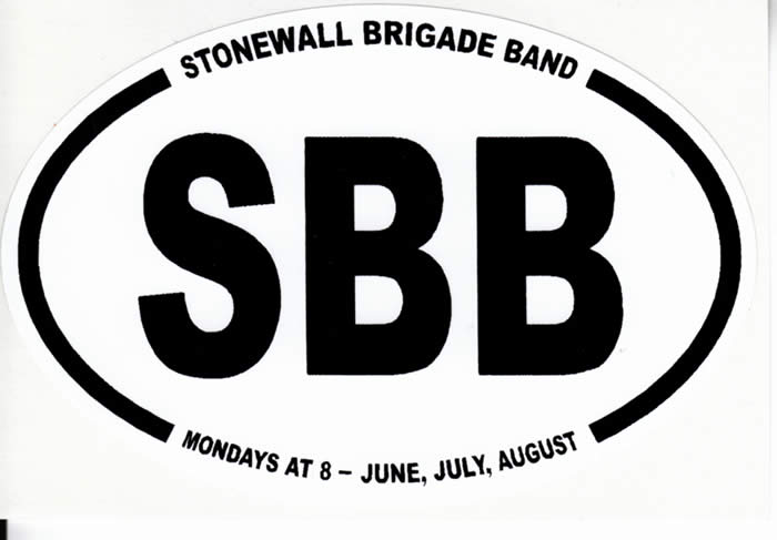Stonewall Brigade Band Bumper Sticker